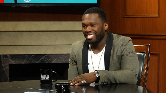 50 cent on larry king live