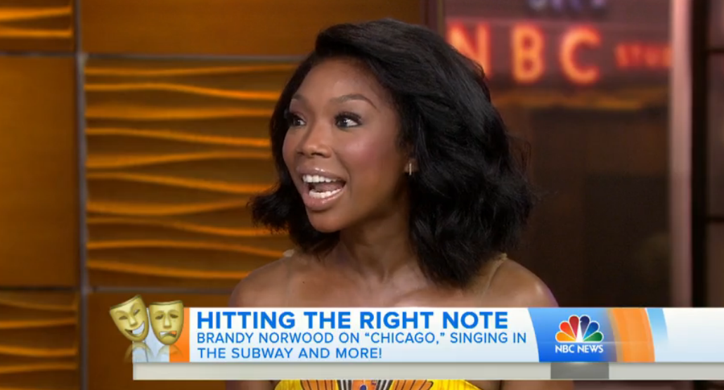 brandy on the today show