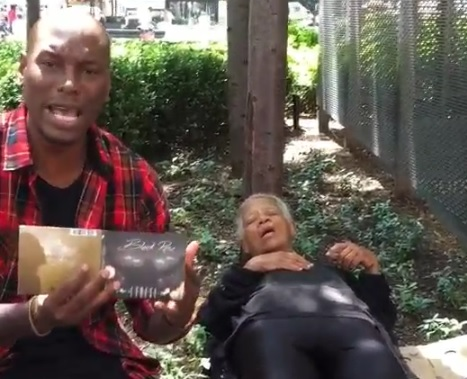 Tyrese and Homeless Woman