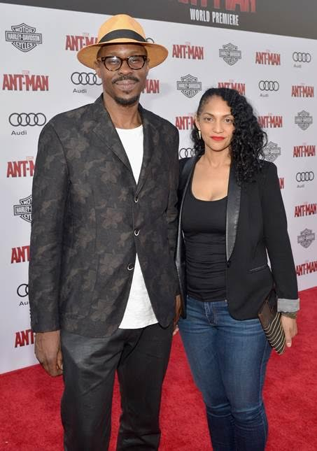 wood harris at ant man premiere