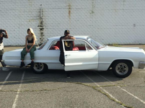 lauriana mae shoots new video