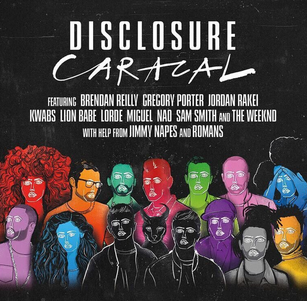 disclosure caracal album