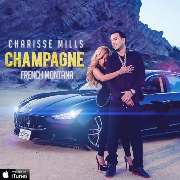 charisse mills and french montana champagne