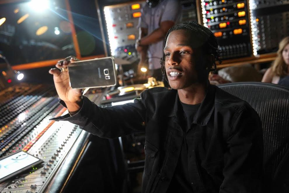 asap rocky samsung commercial