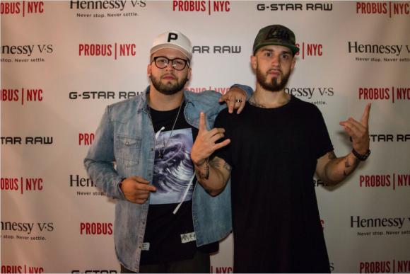 Recording Artists: Andy Mineo & Emilio Rojas