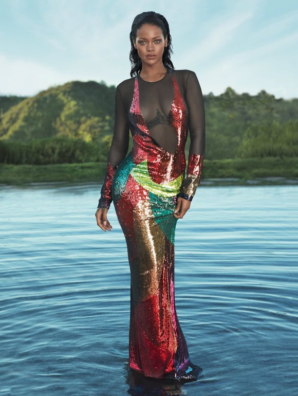 Rihanna Vogue Cover April