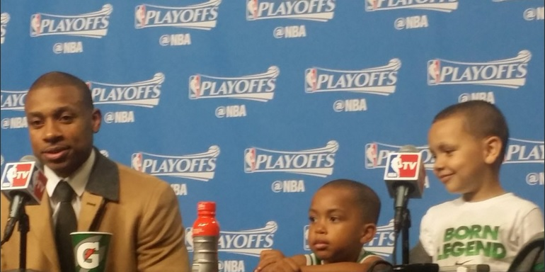 Isaiah Thomas and his sons