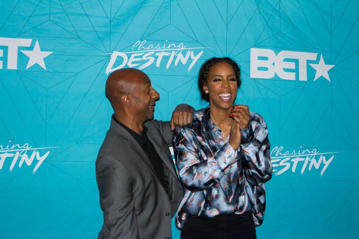 Stephen G Hill and Kelly Rowland