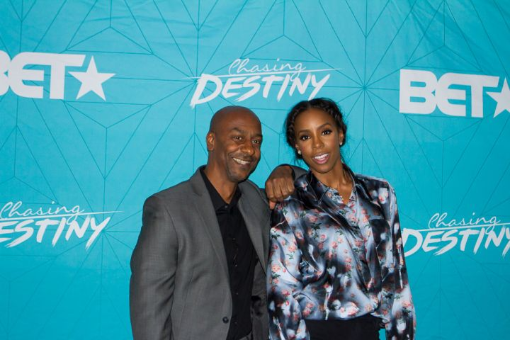 Steohen G Hill and Kelly Rowland