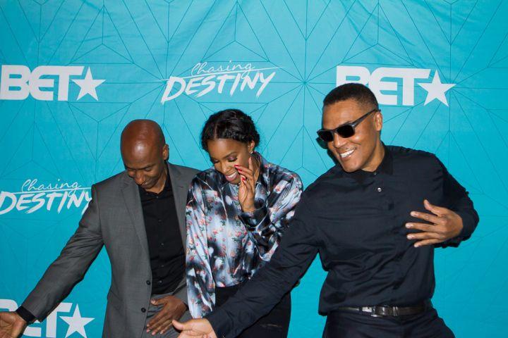 Stephen G Hill, Kelly Rowland and Frank Gatson Jr.