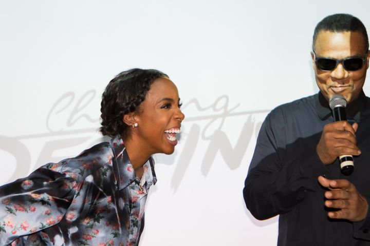 Kelly Rowland and Frank Gatson Jr.