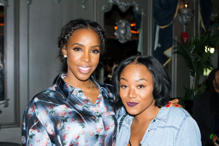 Kelly Rowland and guest