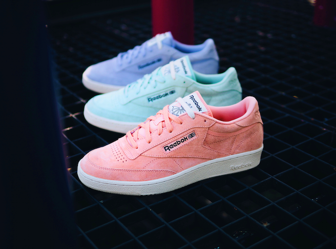 premium selection 2e92e 0f6b8 Reebok Classic introduces the Club C 85 pack in pastels for ...