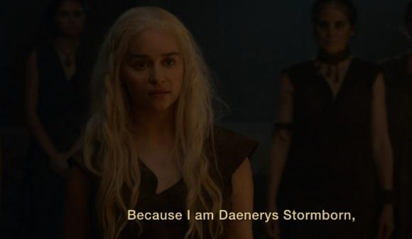 Daenerys Game of Thrones Season 6, Episode 3