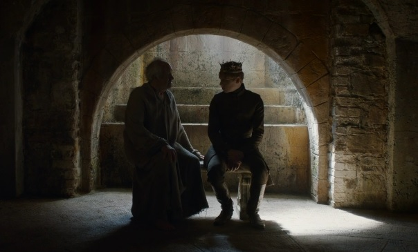 High Sparrow and Tommen Game of Thrones Season 6 Episode 3