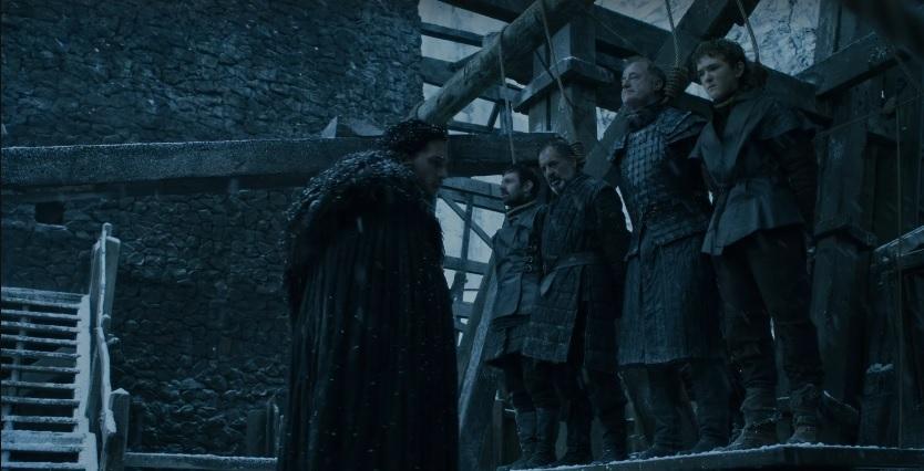 Jon Snow Oathkeeper Game of Thrones Season Episode 3