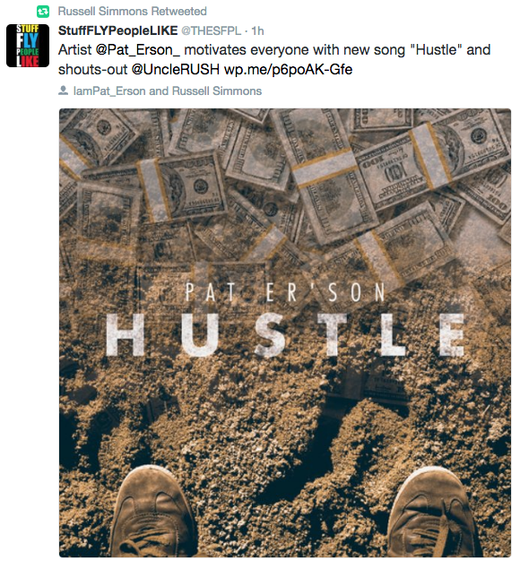 "Pat Er'son Shows Us The Meaning of ""Hustle"" In His New Song"