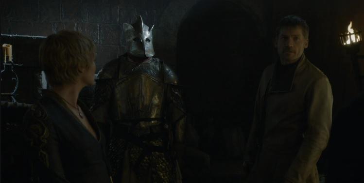 Sir Gregor Game of Thrones Season 6 Episode 3