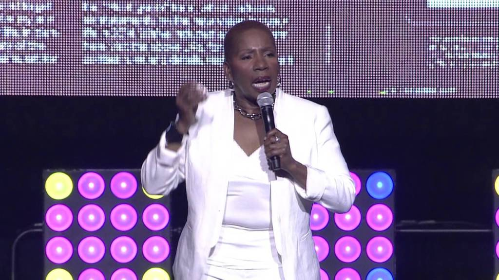 Iyanla Vanzant at 2014 ESSENCE Festival