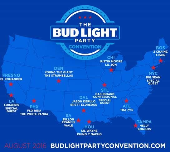 Bud Light Party Campaigns With Big Sean Lil Wayne More Stuff