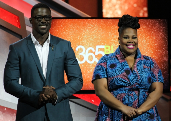 Actress and singer Amber Riley and actor Lance Gross co-hosts the 13th Annual McDonald's 365 Black Awards at the Ernest Moral Convention Center in New Orleans, LA on Friday, July 1, 2016.