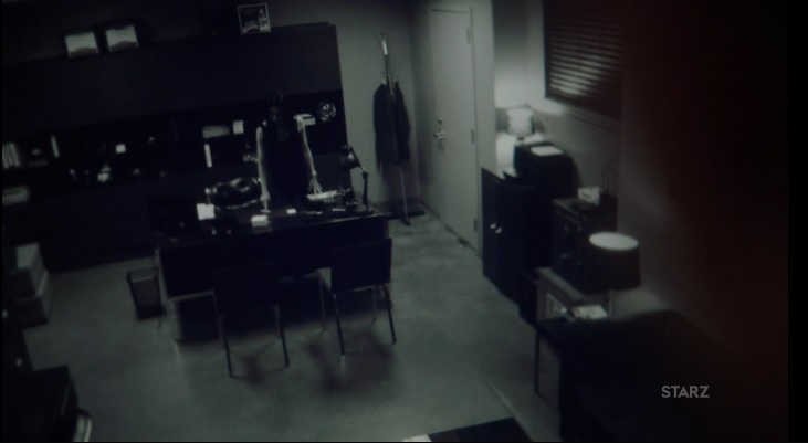 Ghost going over footage Power Season 3