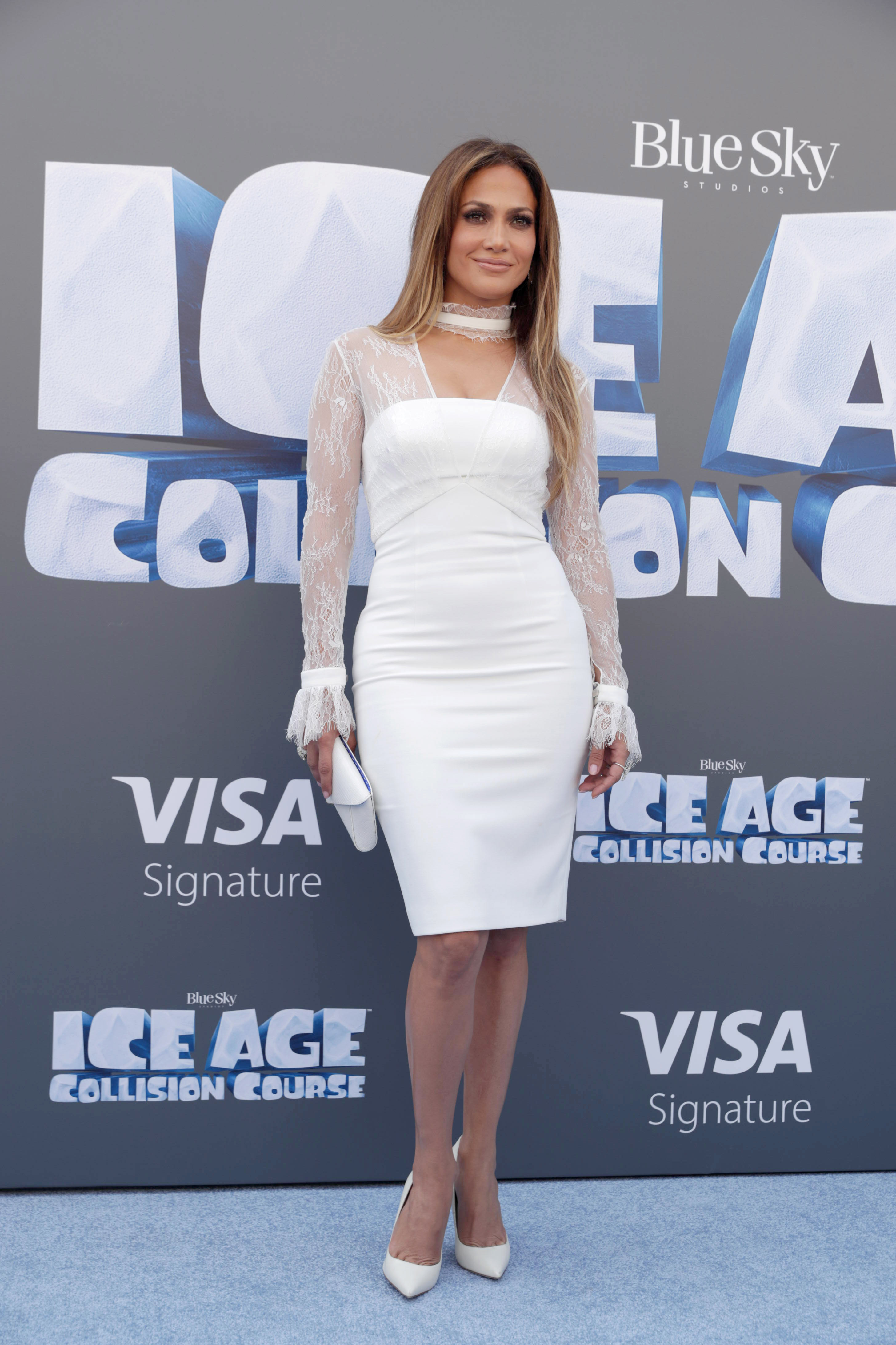 """Jennifer Lopez seen at Twentieth Century Fox """"Ice Age: Collision Course"""" Friends and Family Screening at Zanuck Theater on Saturday, July 16, 2016, in Los Angeles. (Photo by Eric Charbonneau/Invision for Twentieth Century Fox/AP Images)"""