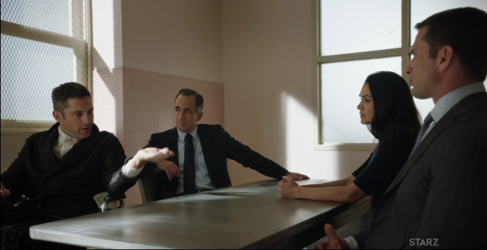 Lobos, Angela and Mike Power Season 3