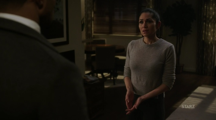 Angel trying to make sense of all of it Power Season 3, Episode 305