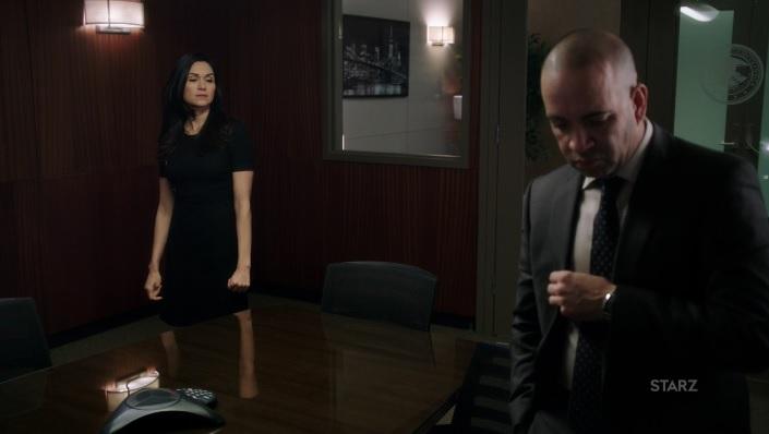 Angela meets with Ruiz Power Season 3, Episode 305