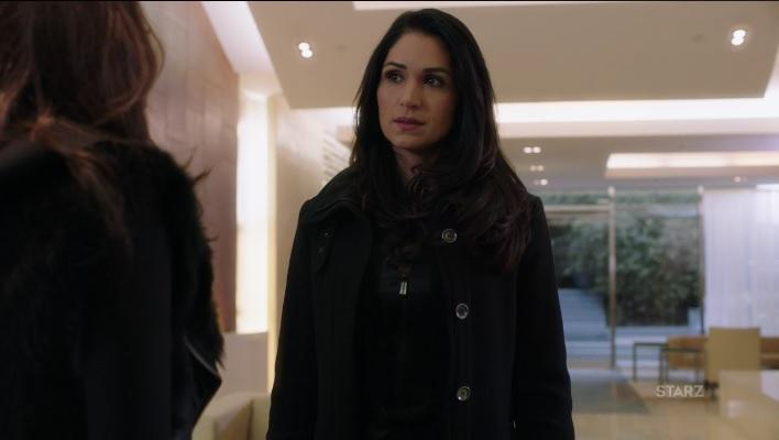 Angela meets with Tasha Power Season 3 episode 304