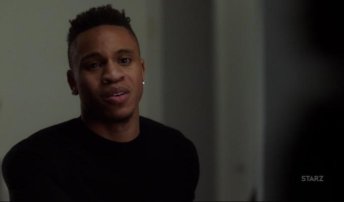 Dre is stressed Power Season 3, Episode 305