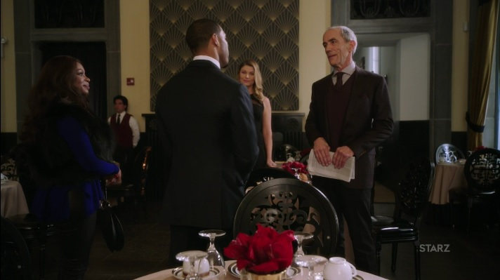 Ghost and Tasha meet with Karen and her dad Power Season 3, Episode 306