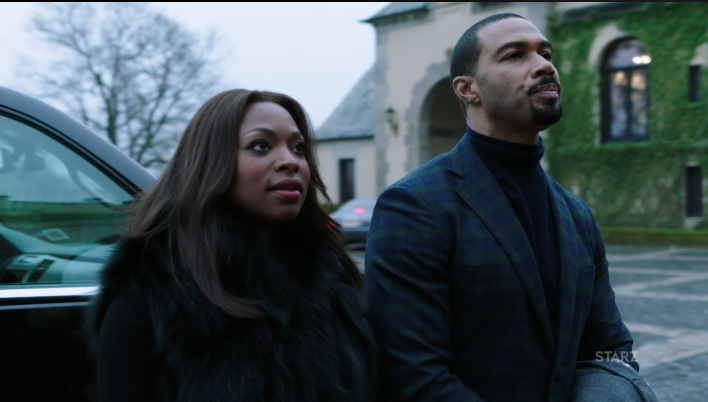 Ghost and Tasha pretending to be a happy couple Power Season 3, Episode 306
