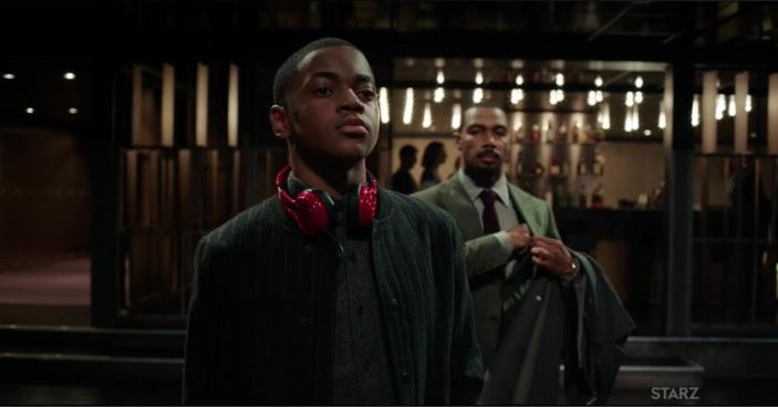 Ghost brings Riq to the club Power Season 3, Episode 305