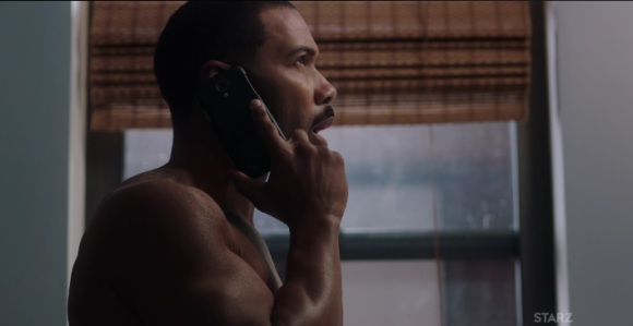 Ghost on the phone with Tasha Power Season 3 episode 304