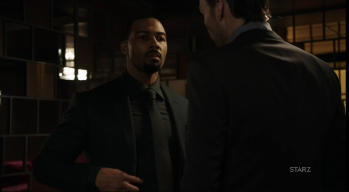 Ghost tells Dean to stop following him Power Season 3, Episode 306