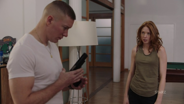 Holly annoying the hell out of Tommy Power Season 3, Episode 305