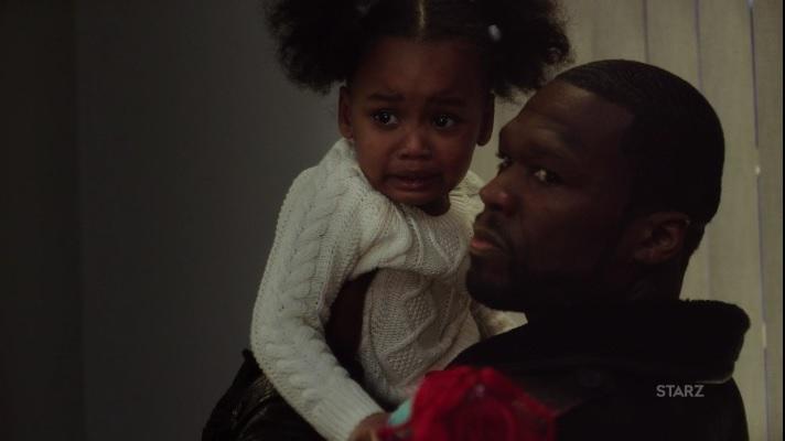 Kanan and Dre's terrified daughter Power Season 3, Episode 305