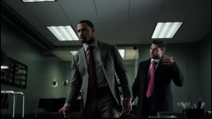 Proctor telling Ghost about Ruiz Power Season 3, Episode 305