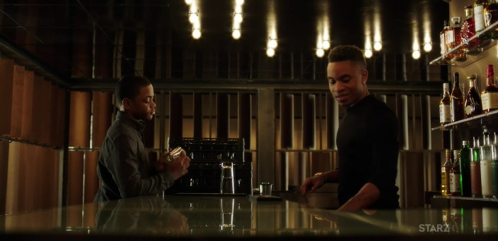 Riq and Dre bonding Power Season 3, Episode 305