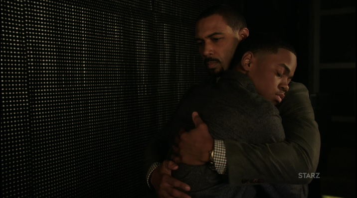 Riq and Ghost have a moment Power Season 3, Episode 305