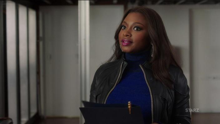 Tasha arrives with Tommy's paperwork Power Season 3, Episode 305