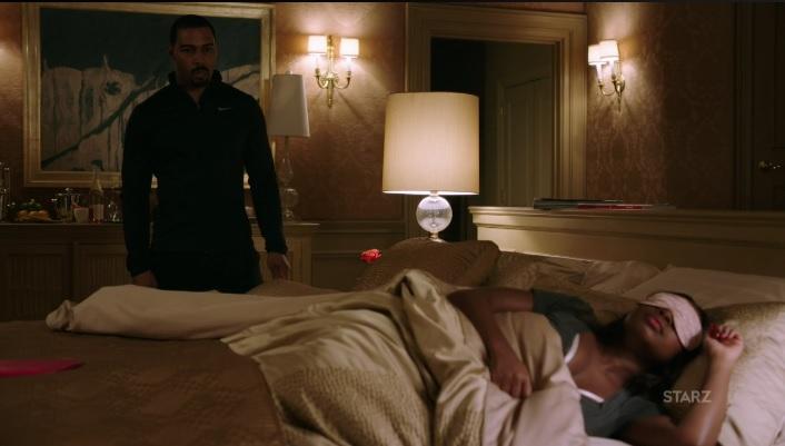 Tasha makes Ghost sleep on the couch Power Season 3, Episode 306
