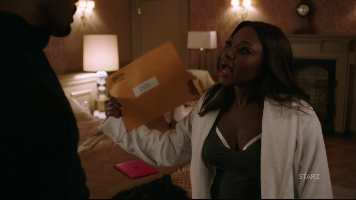 Tasha signs the papers Power Season 3, Episode 306