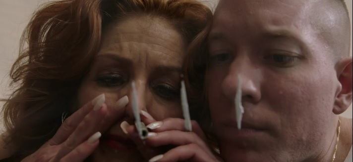 Tommy and His Mom Doing Coke together Power Season 3, Episode 305