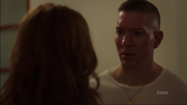 Tommy explains to Holly who tried to kill him Power Season 3, Episode 305