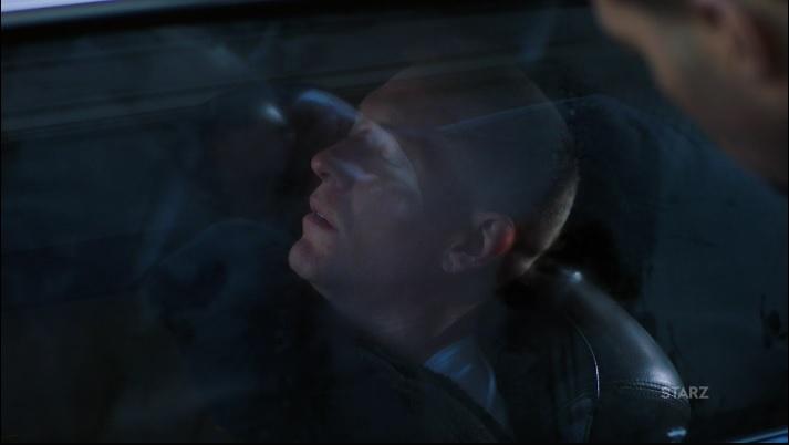 Tommy Sleep in the car Power Season 3, Episode 306