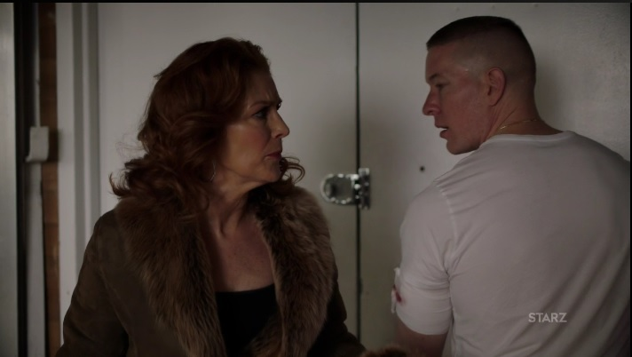 Tommy's Mom is in town Power Season 3, Episode 305