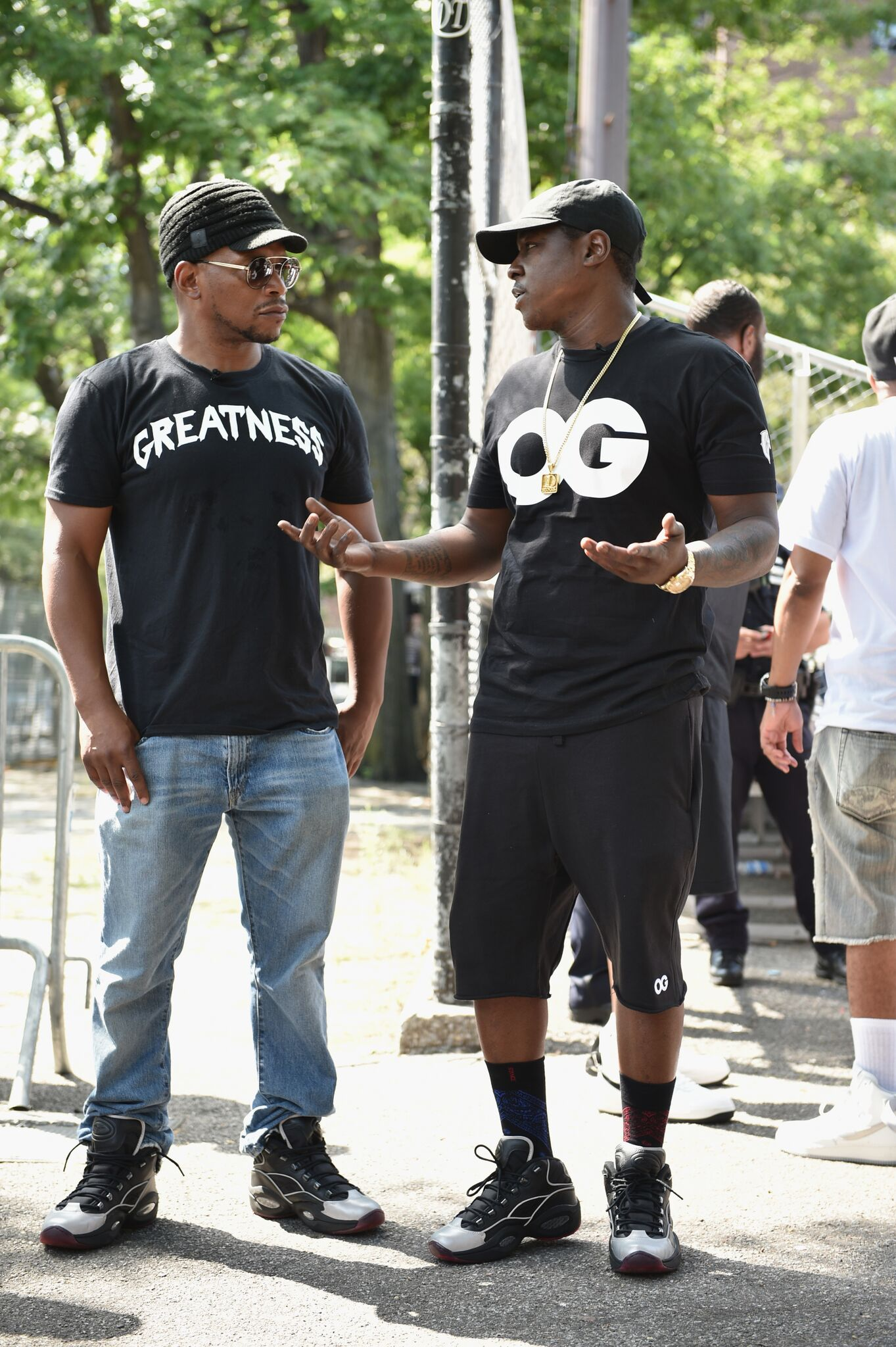 Reebok teams with Cam ron and Jadakiss to launch to launch sneakers ... 6ce078a74